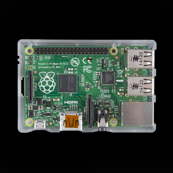Green Translucent Raspberry Pi