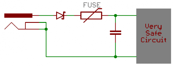 Reverse current protection circuit