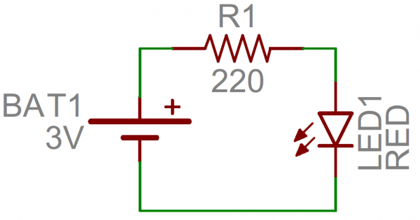 Example of nets on a schematic