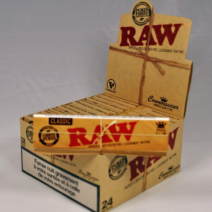 boite feuilles a rouler raw slim carton a prix discount