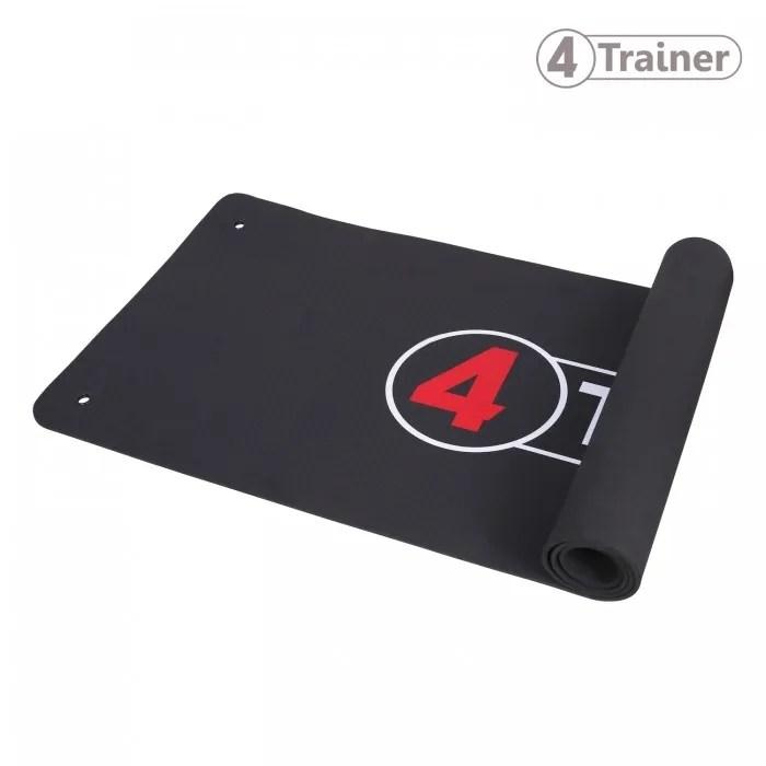 tapis de sol 4trainer confortable epais pour gym fitness sport