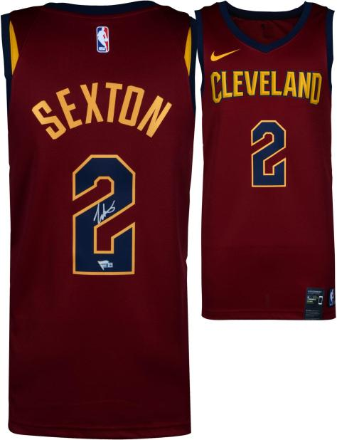 9d6578bb8 Collin Sexton Cleveland Cavaliers Autographed Nike Red Swingman Jersey -  Fanatics Authentic Certified ...