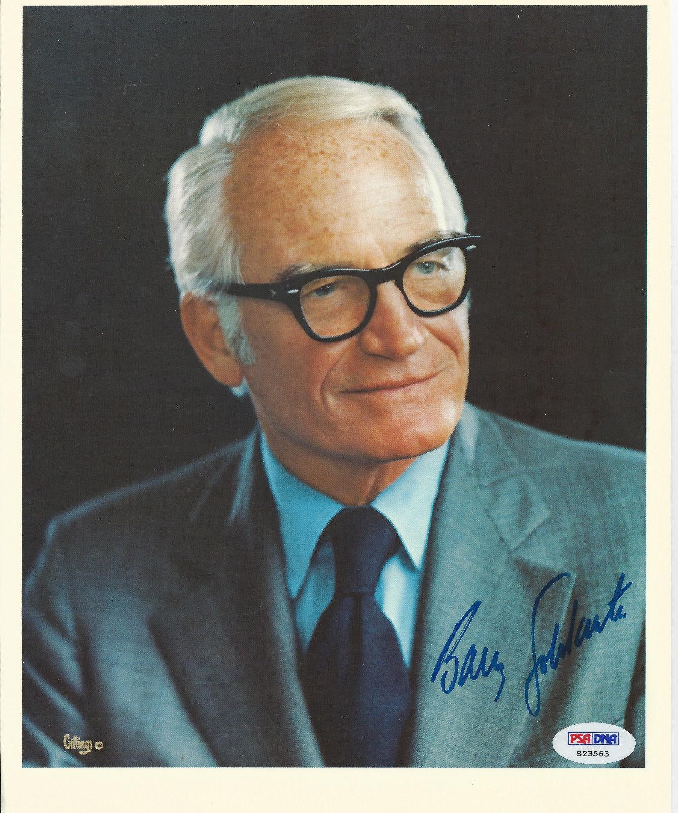 Barry Goldwater Psa Dna Signed 8x10 Photograph Certified