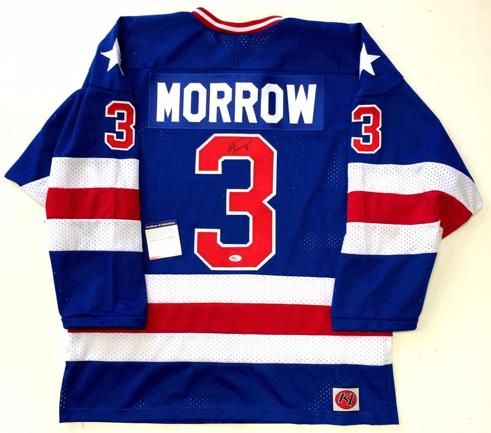 Ken Morrow Autographed Jersey