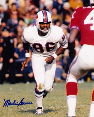 Autographed Marlin Briscoe Picture - 8x10