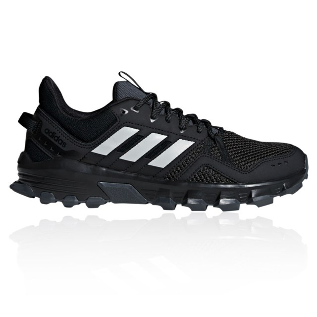 adidas Mens Rockadia Trail Running Shoes Trainers Sneakers Black Sports