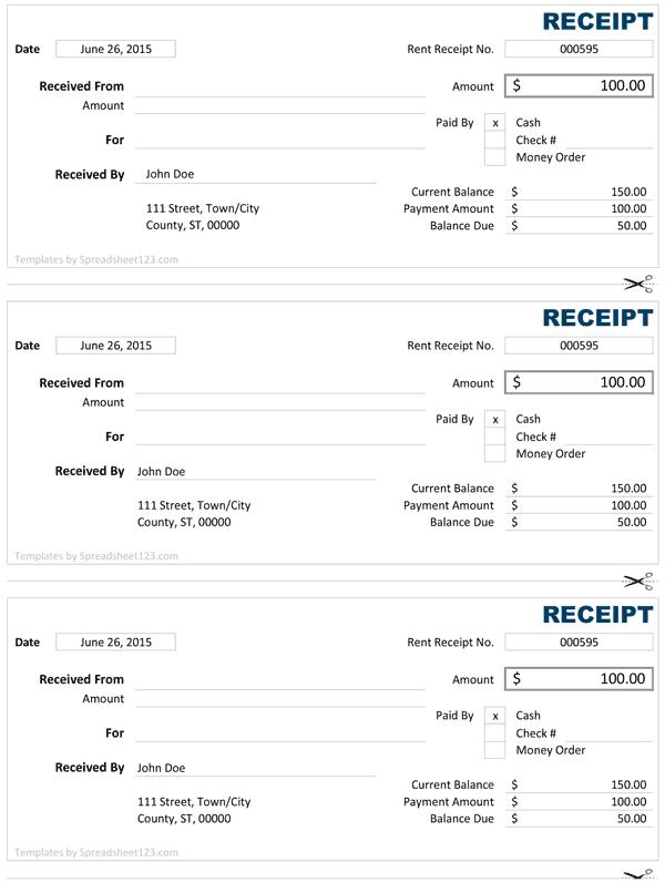 Doc800379 Money Receipt Design money receipt design 84 – Receipt of Money