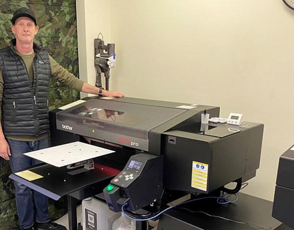 GJS to install Brother garment printer at T-Shirt Magic