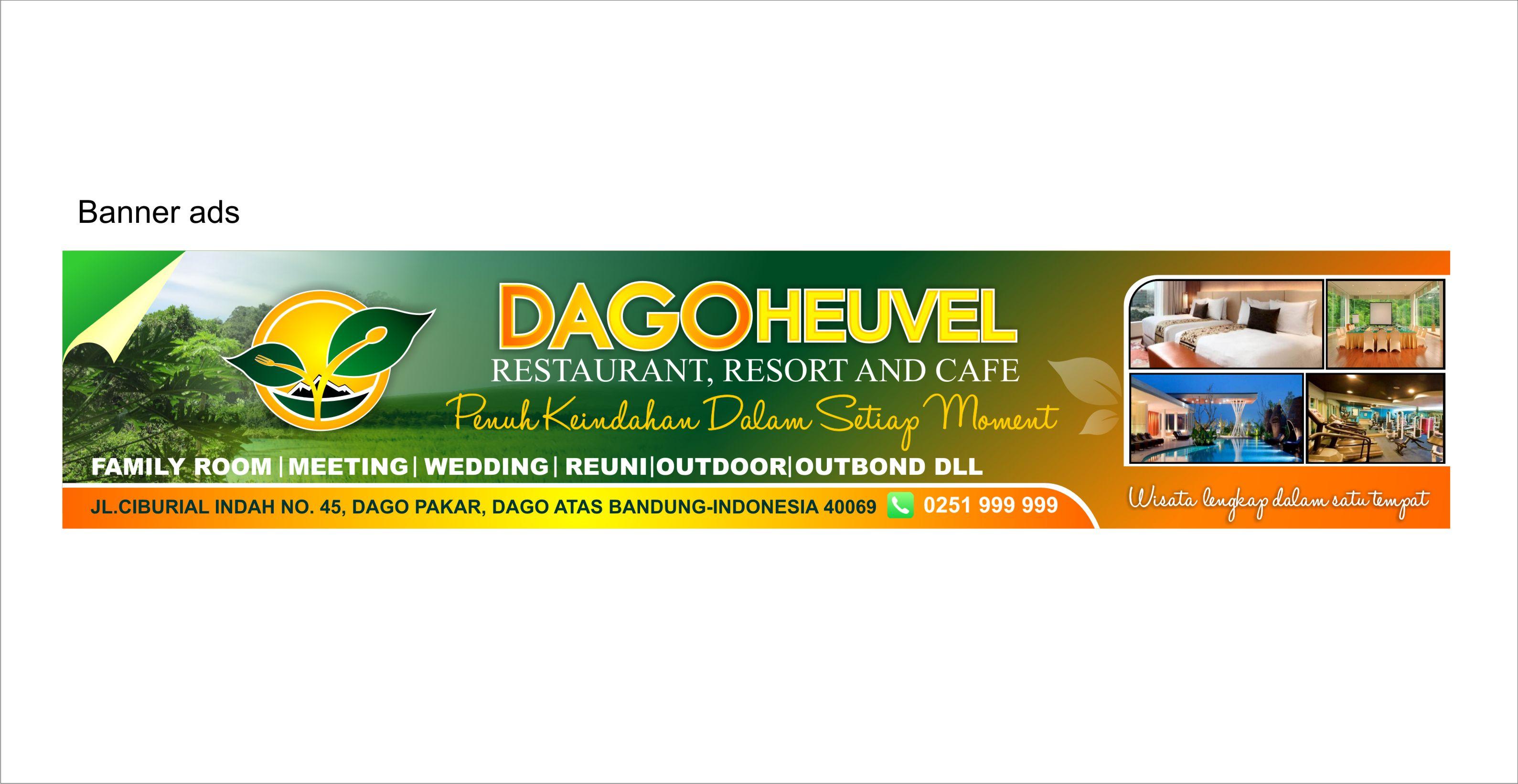 Sribu Banner Design Desain Spanduk Untuk Dago Heuvel