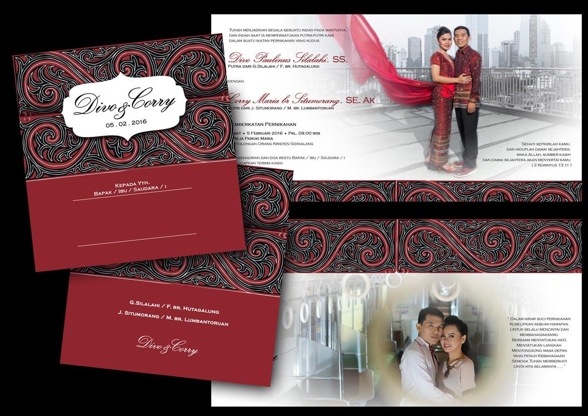 Sribu Desain Kartu Undangan Undangan Pernikahan