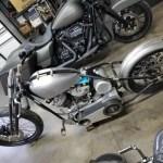 Springer Front End Stock Length Black Fits Harley Davidson