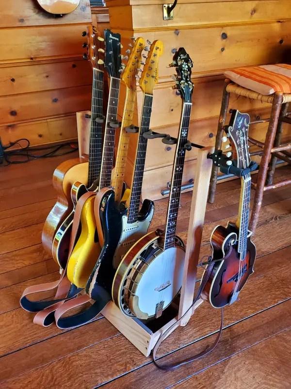 floor guitar rack cc34