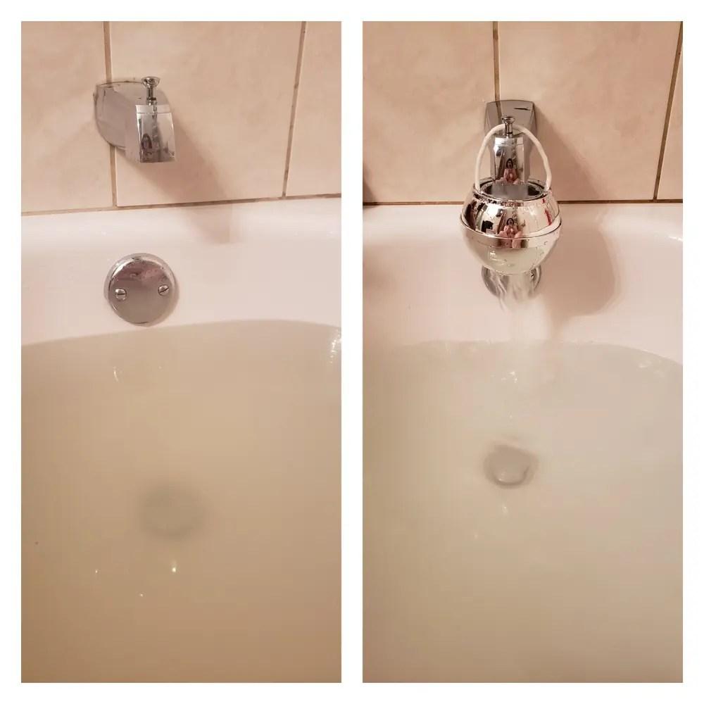 bath ball water filter