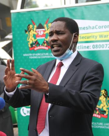 Brace for second locust wave- CS Munya warns