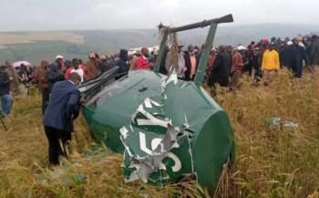 Governor Tunai involved in chopper crash- Photos