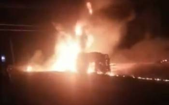 13 people die in a fuel tanker accident