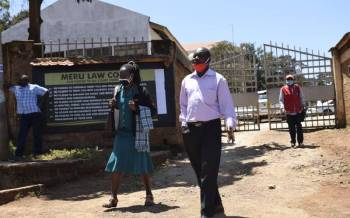 Meru Court temporarily closed after staff test positive Covid-19