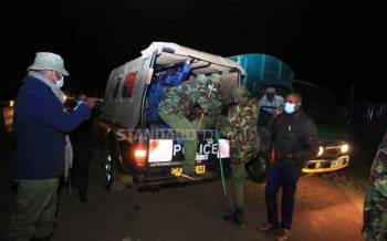 Scores arrested for flouting curfew