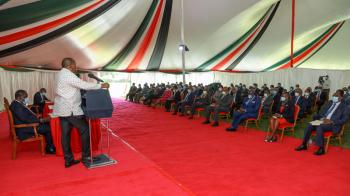 Ruto absent as Uhuru meets Cabinet in bid to build legacy