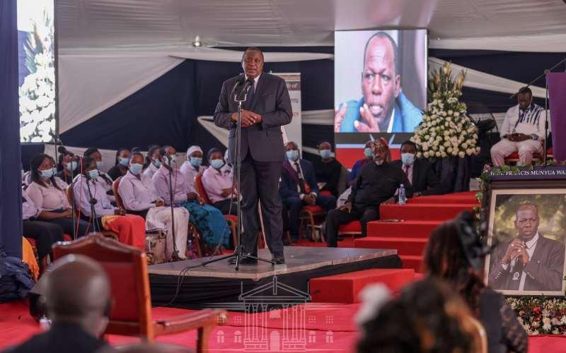 President Kenyatta eulogises late Juja MP Waititu as a patriotic servant leader