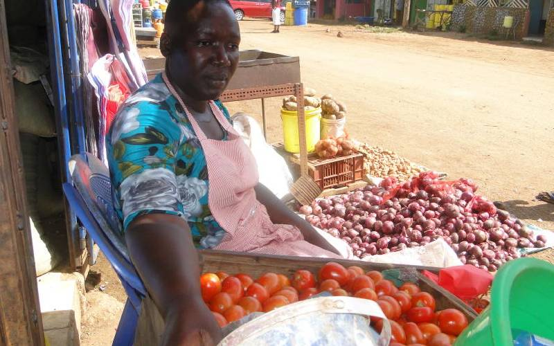 From househelp to cereal vendor: Siaya woman beats all odds