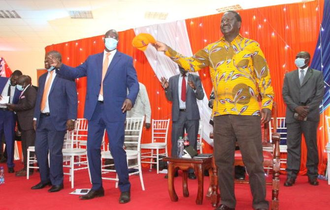 Nyanza leaders hold strategy meeting to drum support for BBI