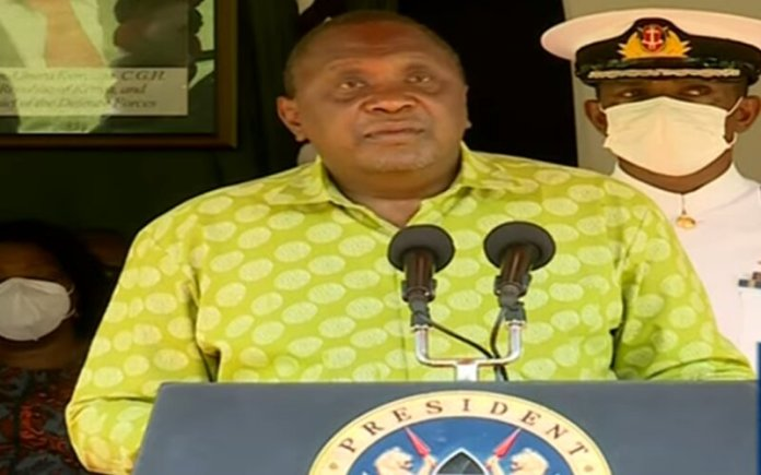 Uhuru Lifts Travel Restrictions Into And Out Of 5 Counties, Revises Curfew