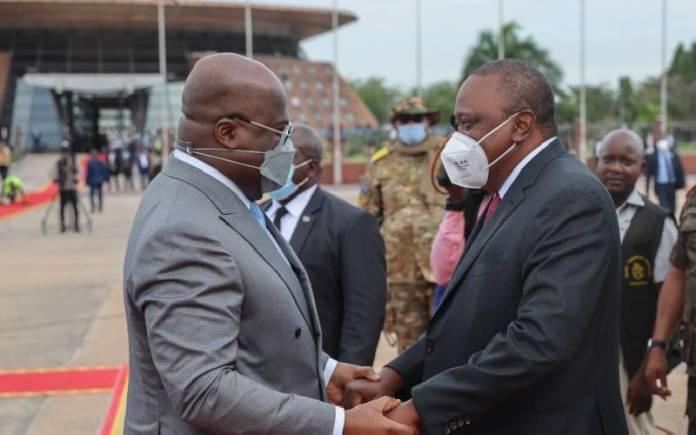 Lsrapqvezi6Ahu607F09128B053 President Uhuru In Kinshasa For Three-Day State Visit