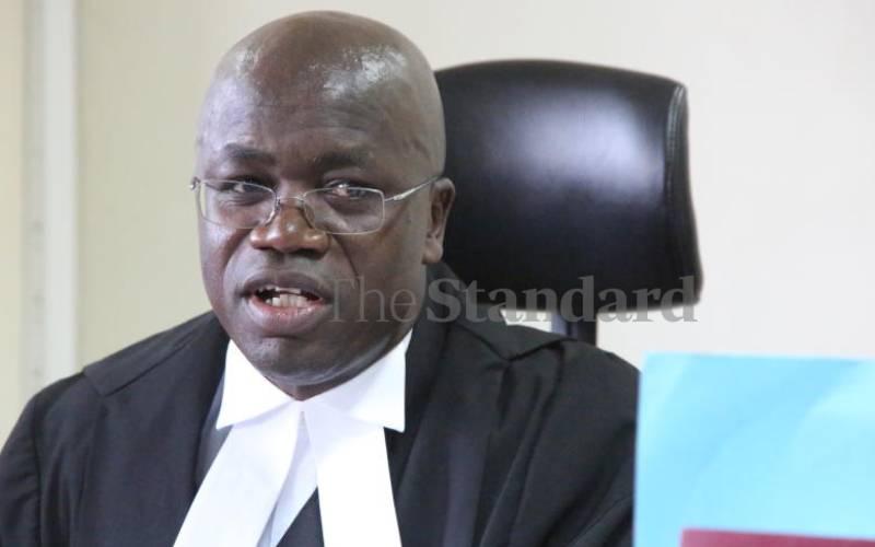 Justice Patrick O. Kiage