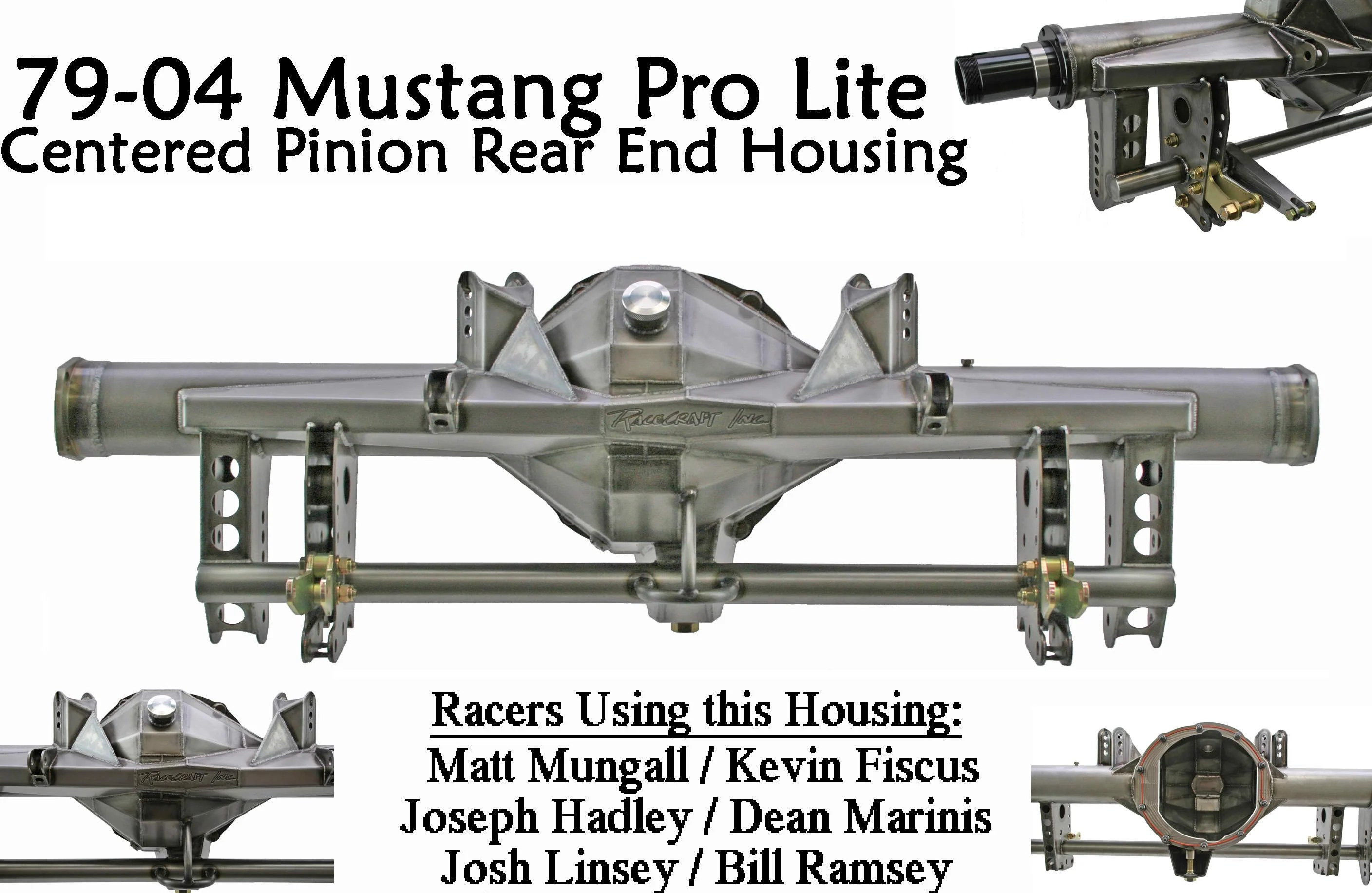 Pro Lite Rear End Housing By Racecraft Inc For 79 04 Mustangs