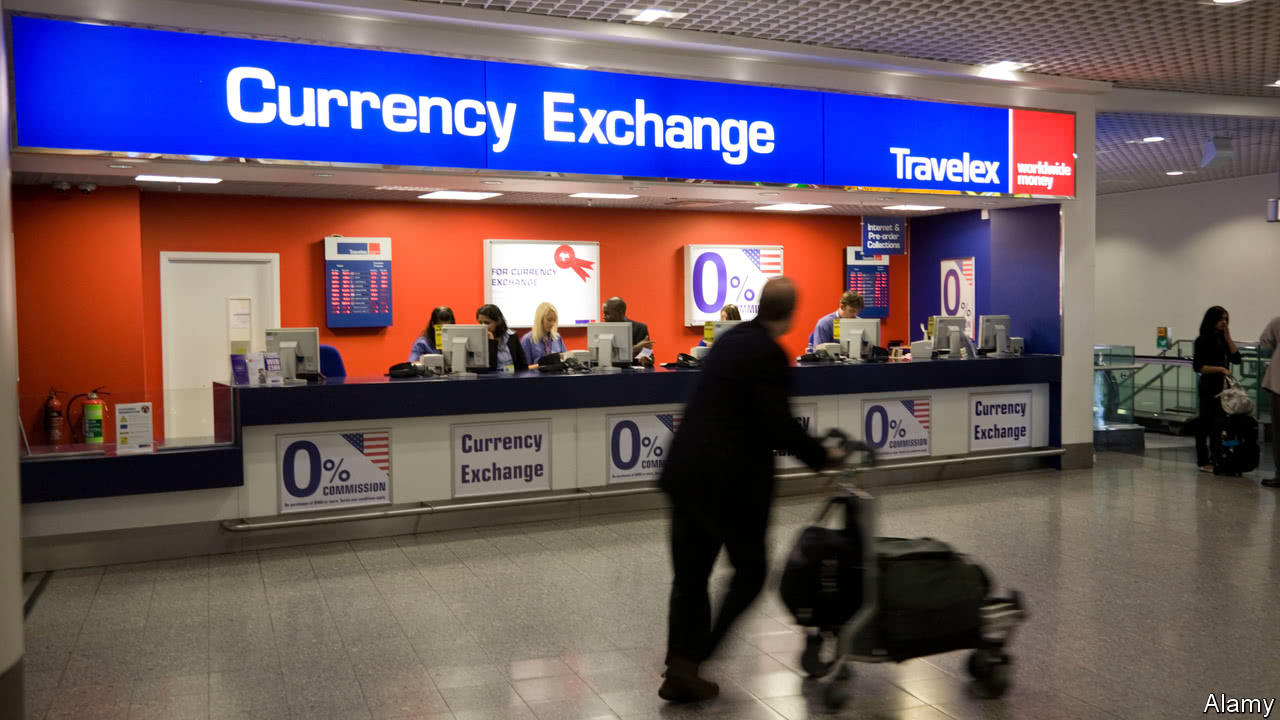 some years ago when gulliver was a wide eyed reporter on his first business trip he sidled up to a bureau de change in london s heathrow airport to buy