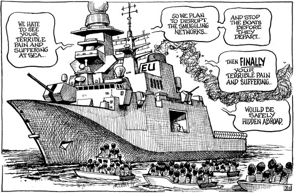 Cartoon, the Economist