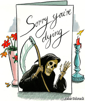The American Way Of Death Greetings Cards
