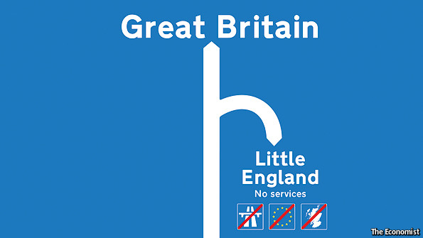 Great Britain turns into Little England