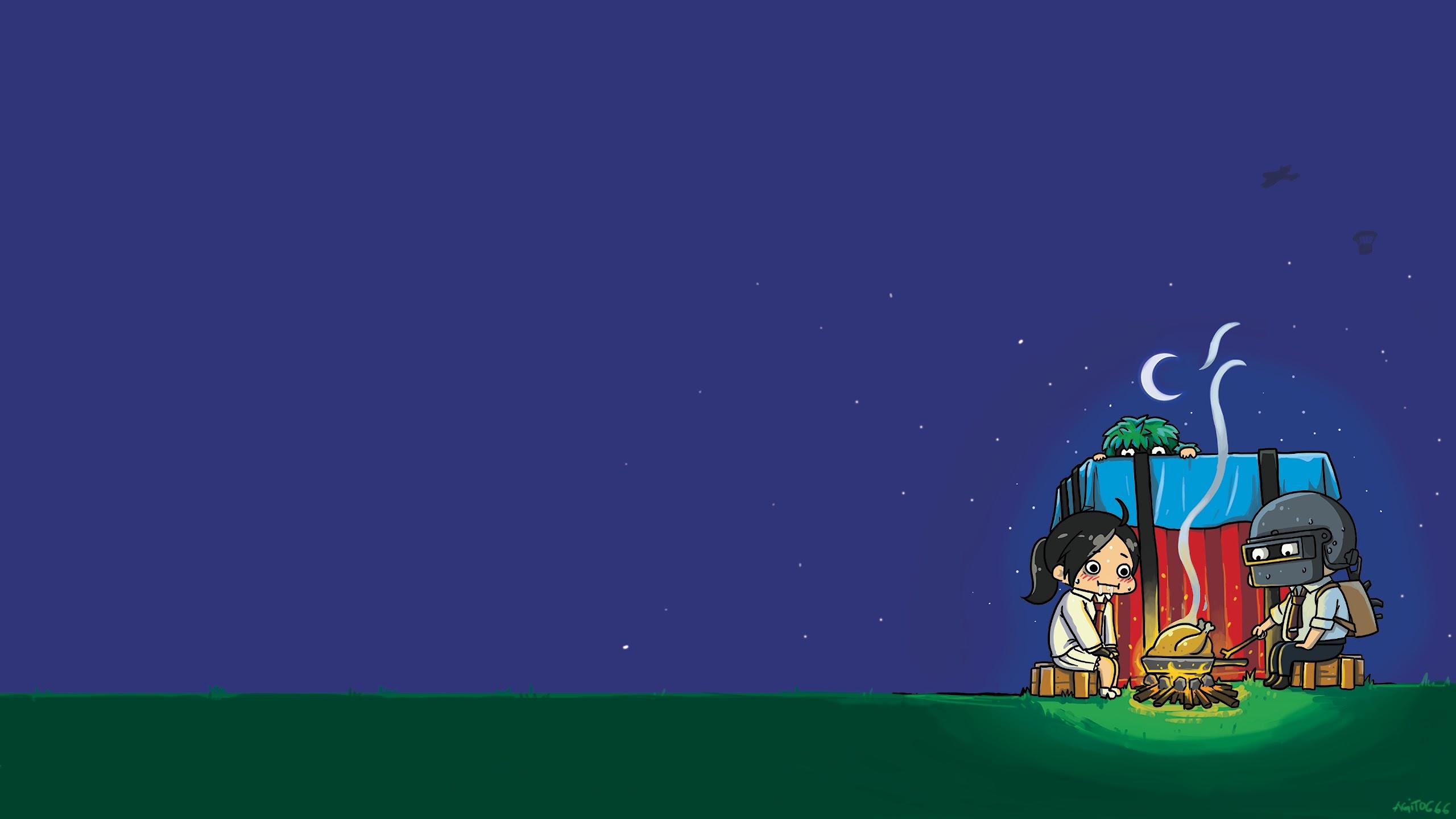 Pubg Cartoon Wallpaper Hd Download