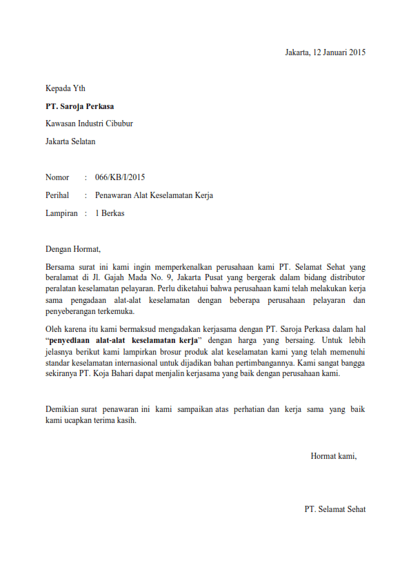 Surat Penolakan Kerjasama : surat, penolakan, kerjasama, Contoh, Surat, Balasan, Menolak, Kerjasama, HAZAHAMAT