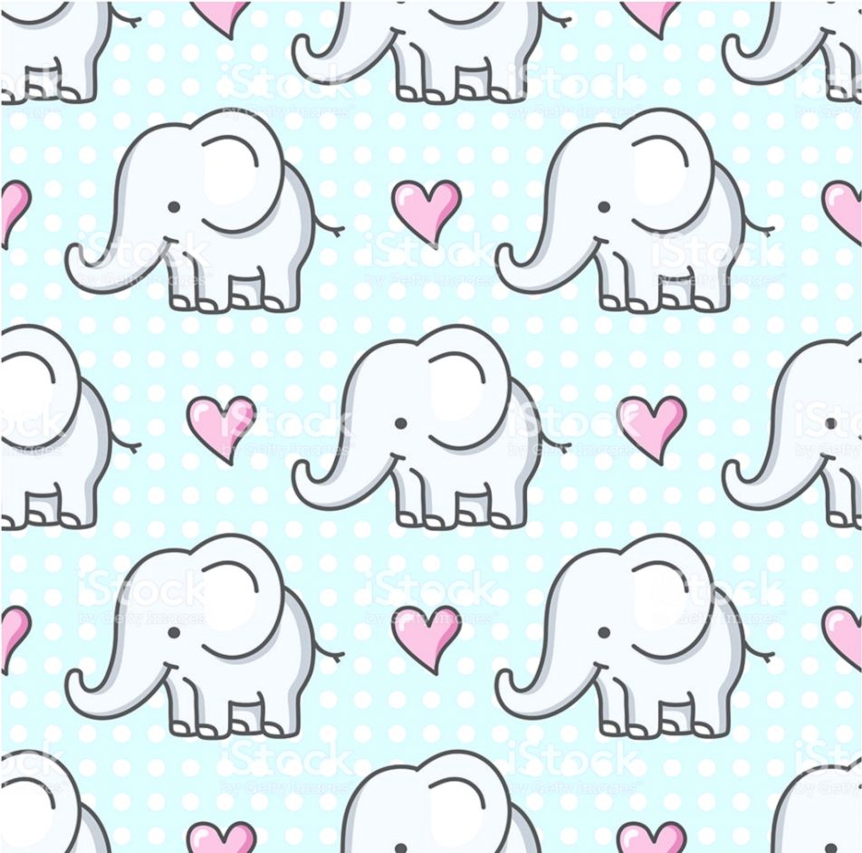 Cartoon Elephant Desktop Wallpaper