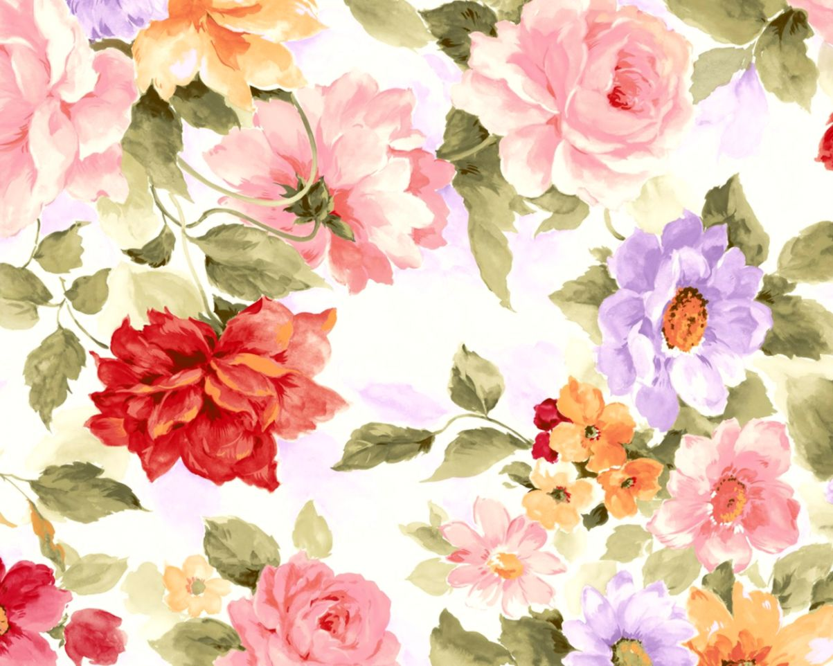 Pink Floral Wallpaper Tumblr