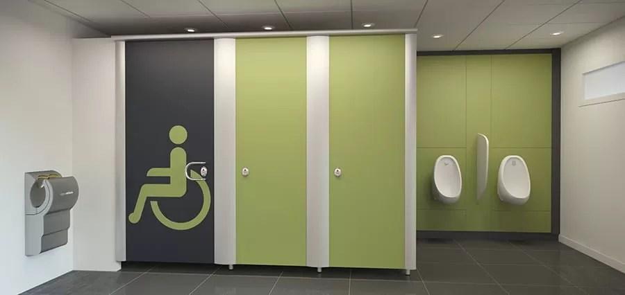 washroom automatic doors