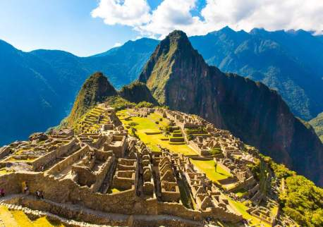 Machu Picchu can be accessed by specialised wheelchairs