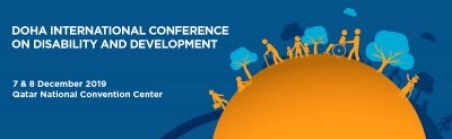 The Doha International Conference on Disability and Development will be held on 7-8 December 2019