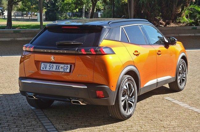 2021 Peugeot 2008 rear