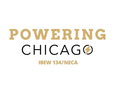Powering Chicago Logo (PRNewsfoto/Powering Chicago)
