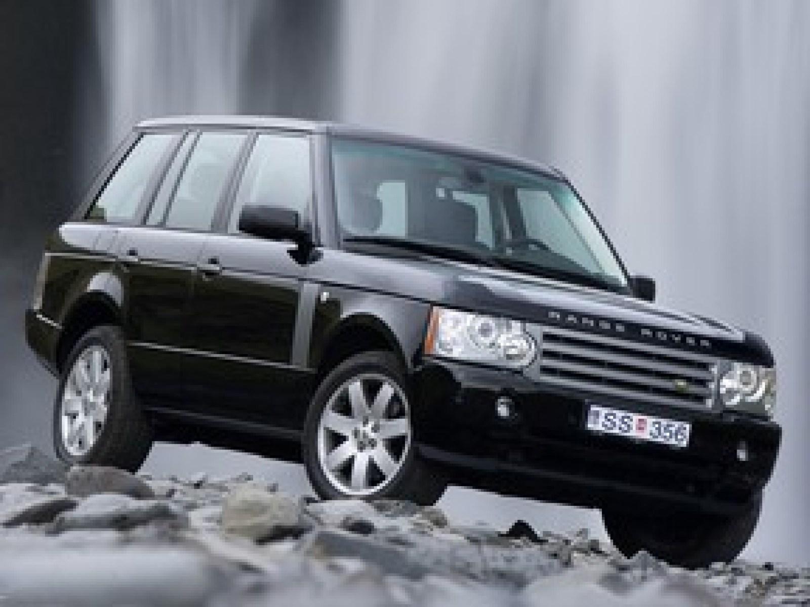 A 2005 Land Rover Range Rover