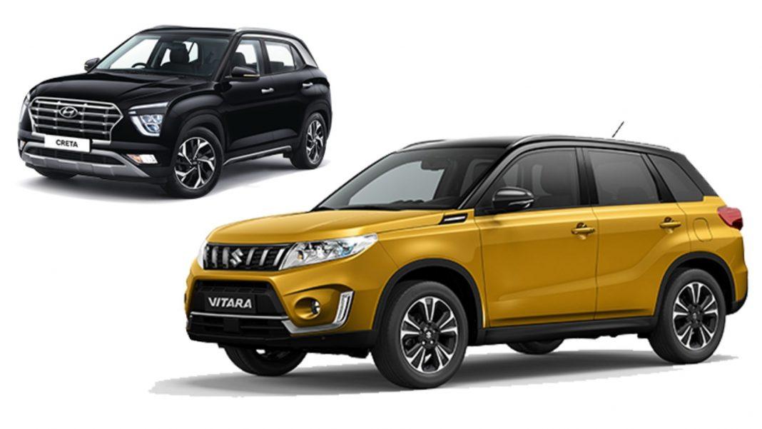 Suzuki Vitara Vs Hyundai Creta