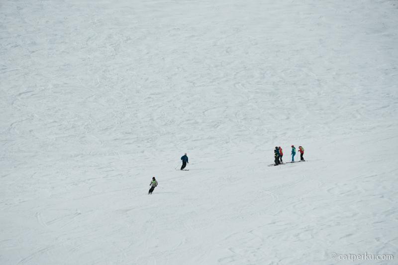 Apa yang kamu lakukan kalau ketemu padang salju seperti ini?