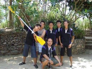 The Team, Team saya dalam team building games di Nusa Lembongan