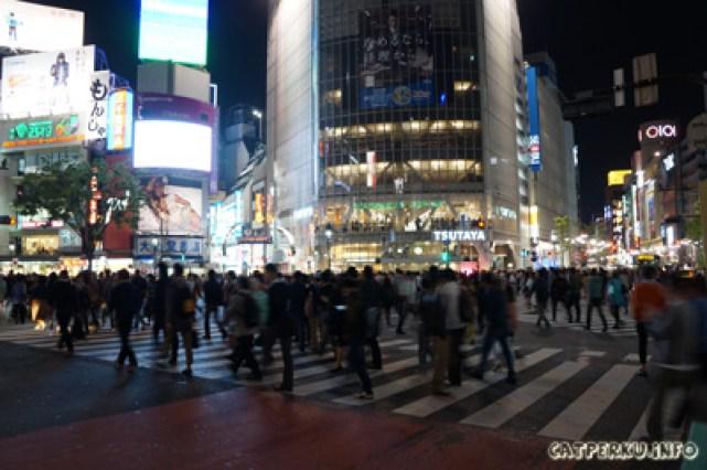 Jepang Yang Unik Penyeberangan paling rame di Jepang