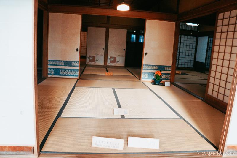 Mengintip rumah para samurai di Kakunodate yang kondisinya masih tetap sama sejak abad ke 16.