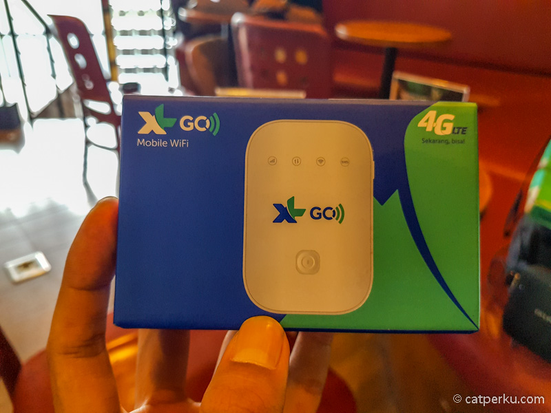 Pengalaman Saya Traveling Menggunakan Modem Wireless XL GO Izi 4G